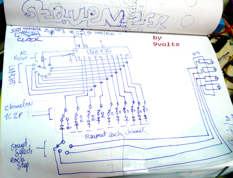 diagrama retocadp circuit bending hacked circuits by 9volts wiring diagram of videoke machine at mr168.co
